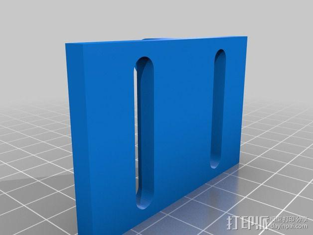 60毫米的风扇支架 3D模型  图2