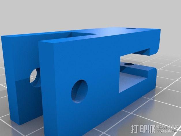 60毫米的风扇支架 3D模型  图3