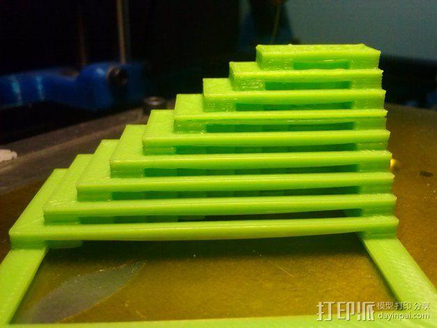 60毫米的风扇支架 3D模型  图5