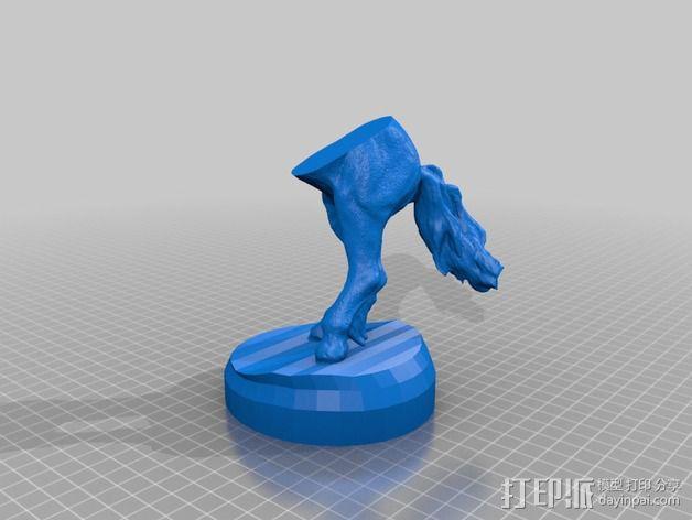 半人马  3D模型  图2