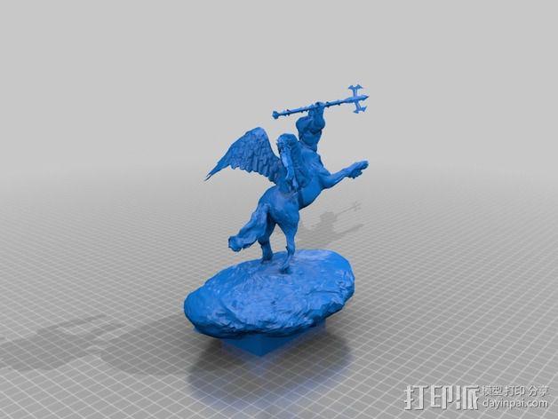 半人马  3D模型  图3