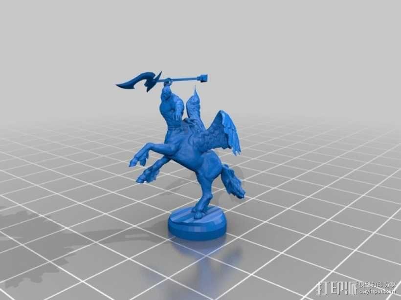 半人马  3D模型  图4