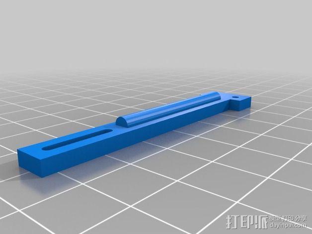 自动调平器的马达支架 3D模型  图3
