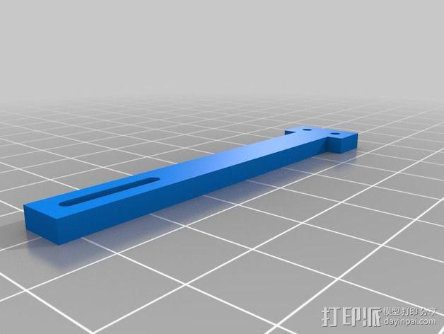 自动调平器的马达支架 3D模型  图5