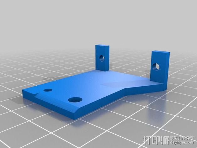 自动调平器的马达支架 3D模型  图4