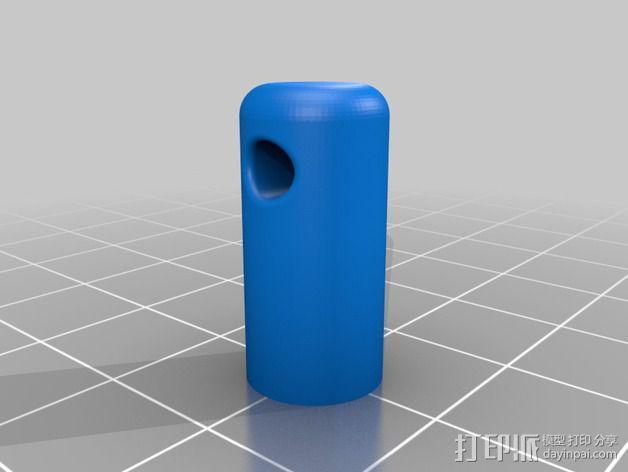 Printrbot Simple打印机线材导线器 3D模型  图2