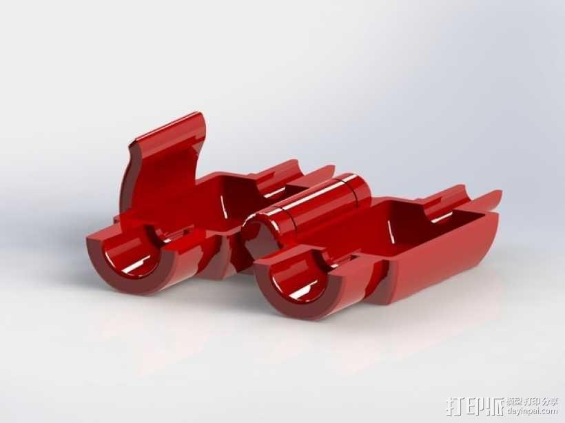 线材滤尘器 3D模型  图1