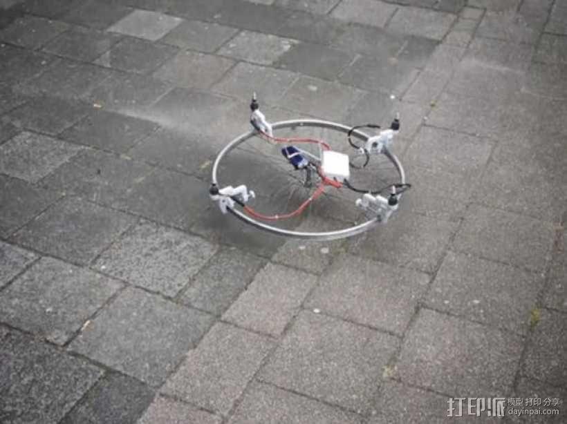 四轴飞行器 3D模型  图6