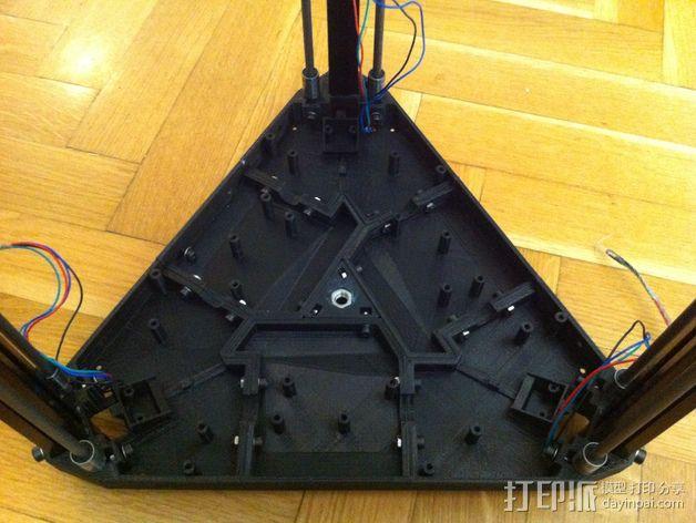 3DR delta式打印机延展器 3D模型  图3