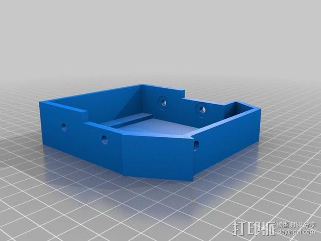 3DR delta式打印机延展器 3D模型  图4