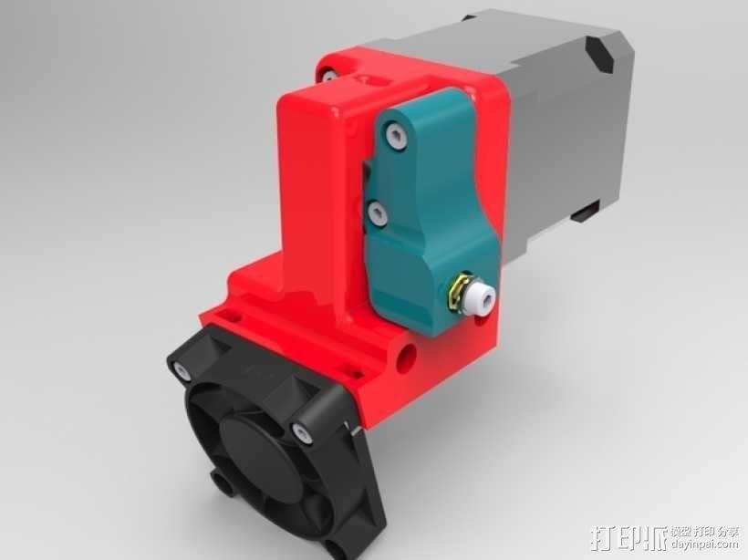 1.75毫米挤出机 3D模型  图1