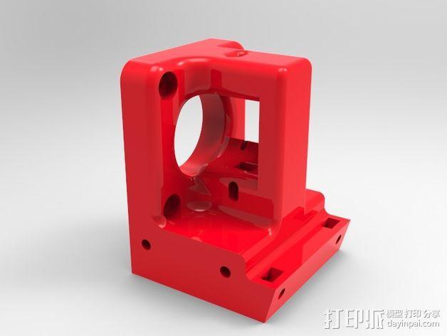 1.75毫米挤出机 3D模型  图2