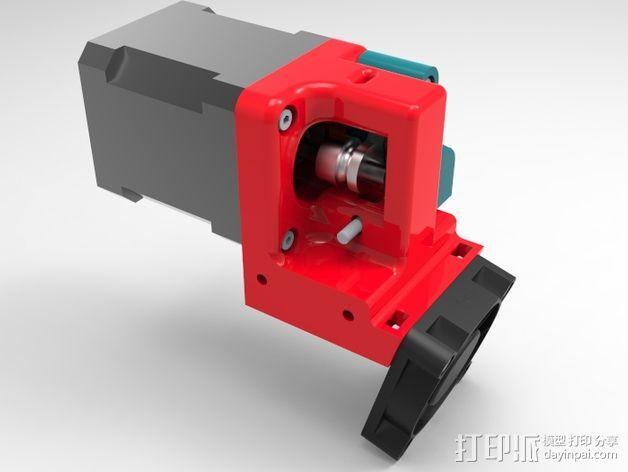 1.75毫米挤出机 3D模型  图4