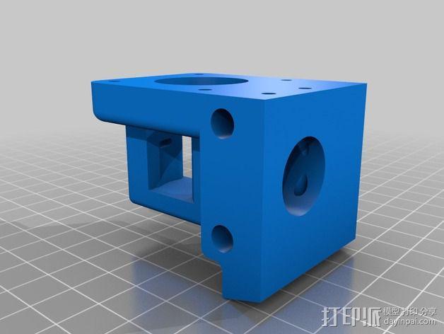1.75毫米挤出机 3D模型  图5
