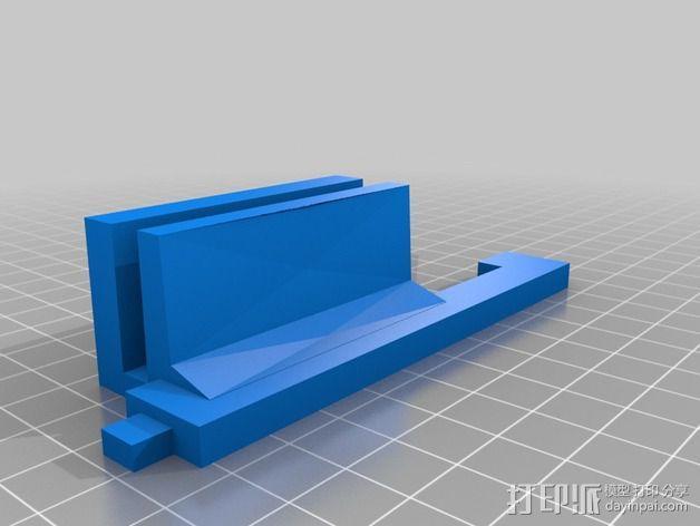 LCD显示屏支架 3D模型  图7