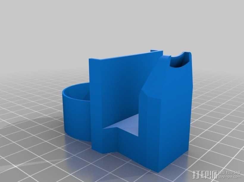 风扇通风导管 3D模型  图6