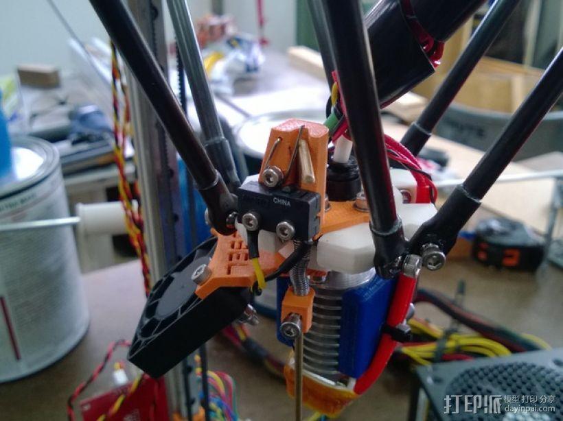 自动调平探针 3D模型  图3