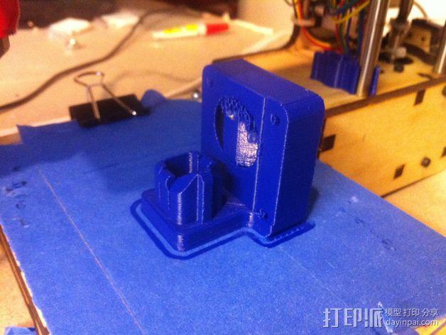 挤出机风扇 散热装置 3D模型  图4