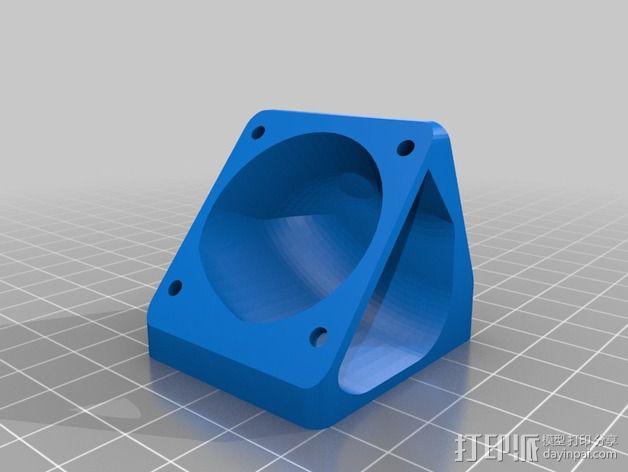 挤出机风扇 散热装置 3D模型  图7
