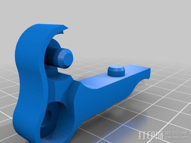 鲍登双挤出机 3D模型  图3
