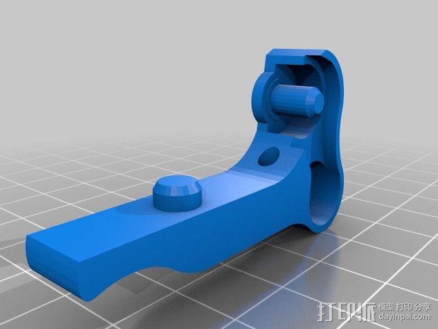 鲍登双挤出机 3D模型  图4