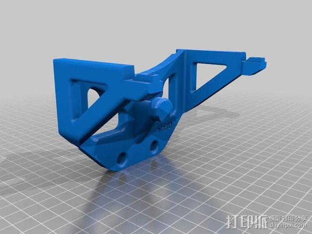 鲍登双挤出机 3D模型  图8