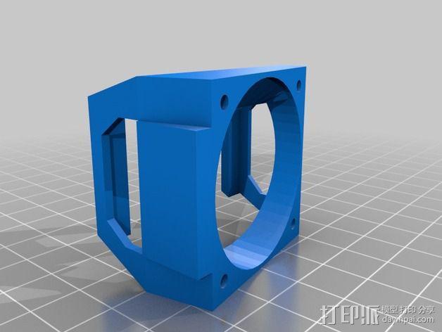 鲍登双挤出机 3D模型  图10