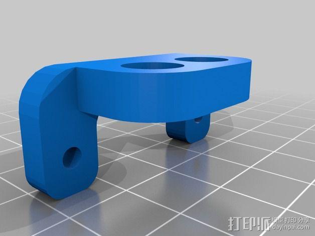 鲍登双挤出机 3D模型  图11