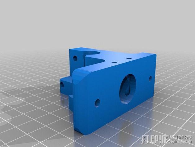 Wade's Extruder 挤出机的滚铣齿轮 3D模型  图5