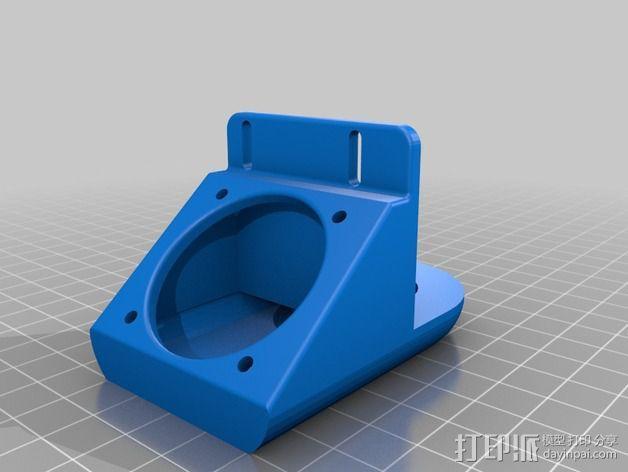 风扇支架 3D模型  图3