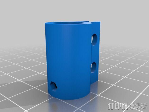 NEMA17 马达耦合器 3D模型  图3