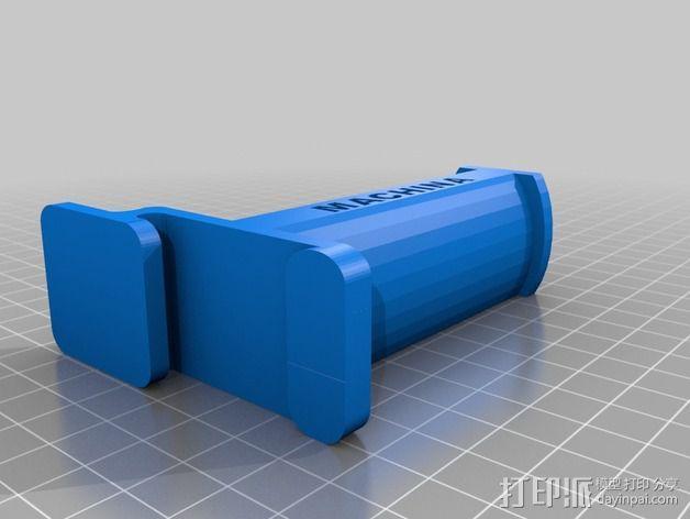 线材卷支架 线轴支架 3D模型  图3