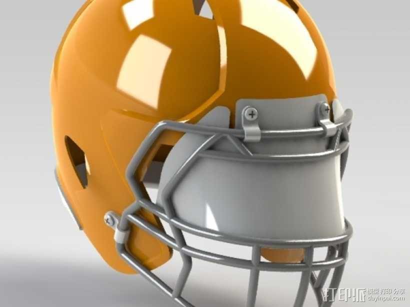 头盔 3D模型  图2