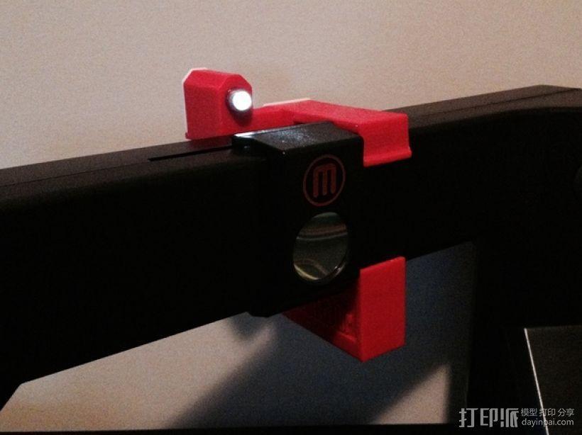 照明器支架 3D模型  图2