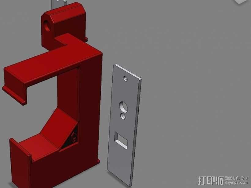照明器支架 3D模型  图9