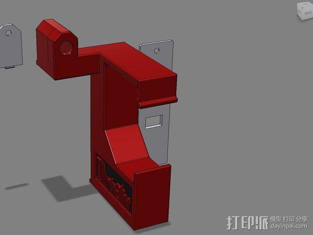 照明器支架 3D模型  图7