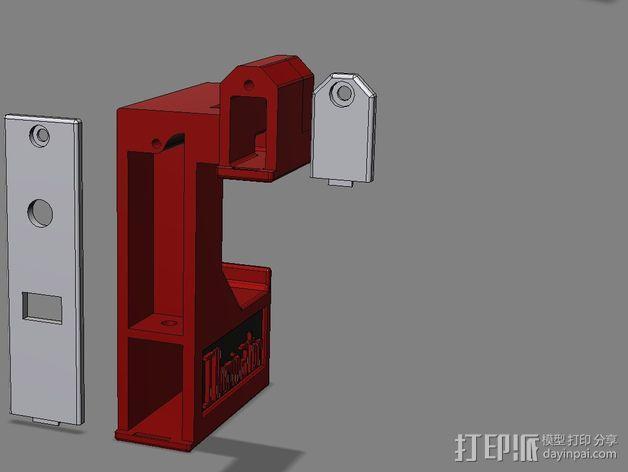 照明器支架 3D模型  图11