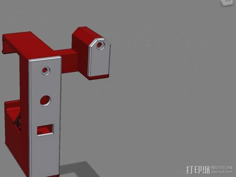 照明器支架 3D模型  图12