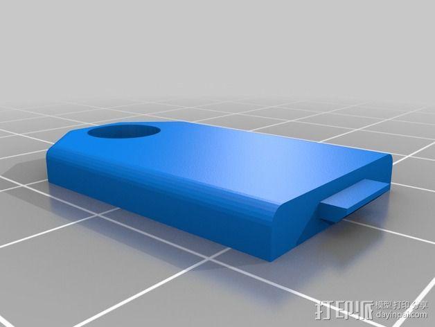 照明器支架 3D模型  图17