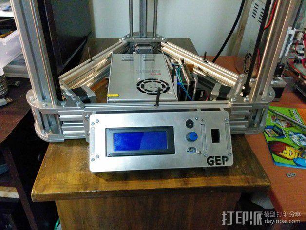 Gelta 3d打印机 3D模型  图2