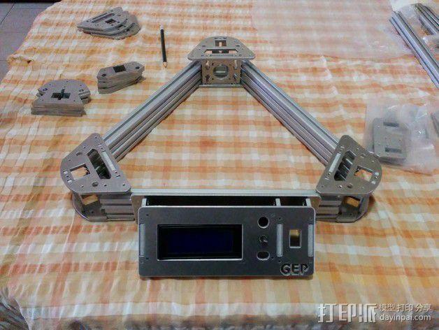 Gelta 3d打印机 3D模型  图5