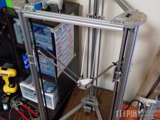 Gelta 3d打印机 3D模型  图4
