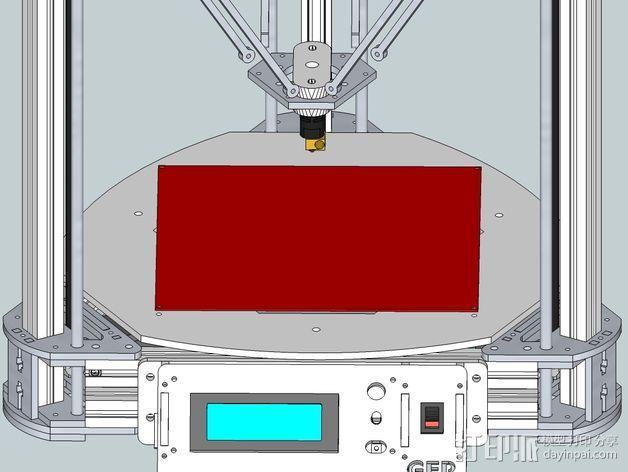 Gelta 3d打印机 3D模型  图14