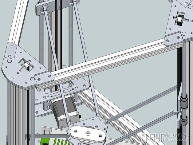 Gelta 3d打印机 3D模型  图13