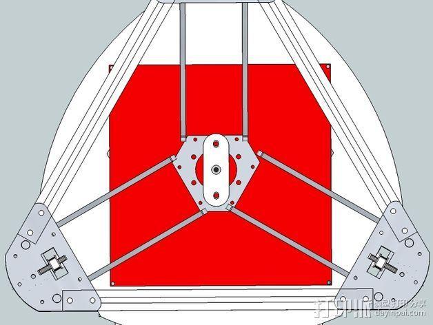Gelta 3d打印机 3D模型  图12