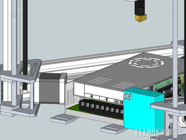 Gelta 3d打印机 3D模型  图16