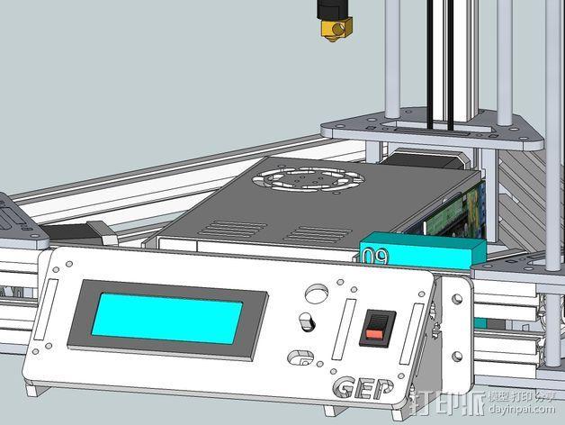 Gelta 3d打印机 3D模型  图17