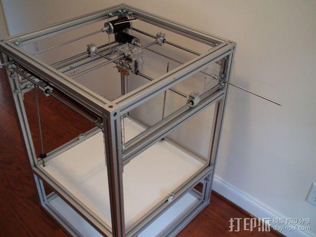 Ulti-Replicator打印机 3D模型  图24