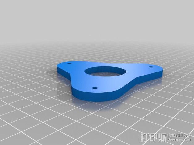 超级坚固的线轴支架 3D模型  图2