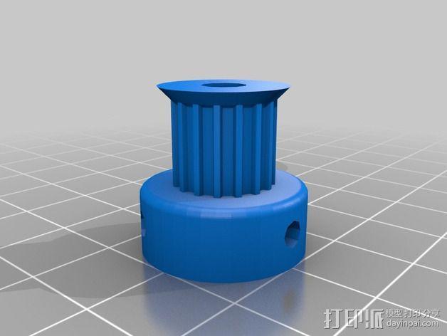 Prusa i2打印机轴承套件 3D模型  图4
